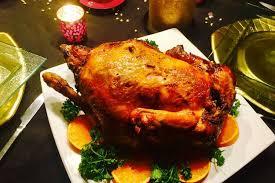 cuisine chapon roti cuisine la recette du dimanche chapon rôti au gingembre et au