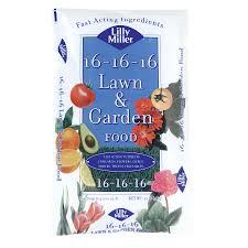 16 16 16 npk garden fertilizer combine with epsom salts and