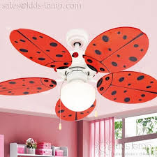 Ceiling Fan Kids Room by Cool Cartoon Ladybird Kids Room Ceiling Fans With Lamps F 014