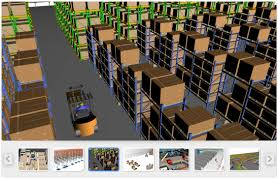 warehouse layout software free download warehouse simulation 3d dynamic simulation software for picking
