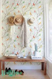 wallpaper with birds colorful birds pattern self adhesive wallpaper let colors speak