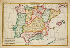 Portugal Spain Map by Antiquemaps Fair Map View Bonne Antique Map Of Spain And