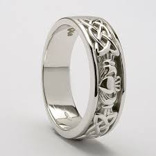 intertwined wedding rings intertwined wedding bands fedelma claddagh wedding ring c 759