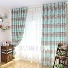 Shabby Chic Designer by Teal And Gray Shabby Chic Unique Designer Cheap Striped Curtains