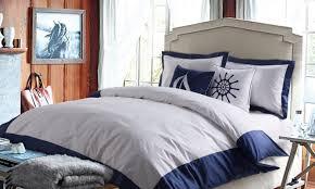 bedding set blue white bedding inviting blue grey and white