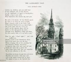 paul revere s ride book a page from an 1831 book of illustrated poems of henry wadsworth