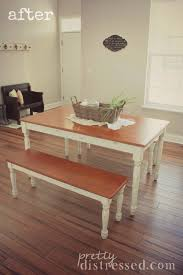 walmart better homes and gardens farmhouse table walmart kitchen table makeover after better homes and garden