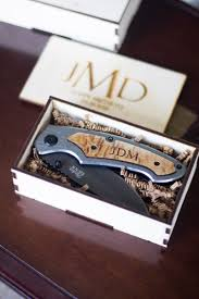 engraved wedding gift ideas groomsmen gift set set of 10 personalized box cutter gift set