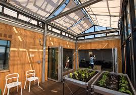 dream house for urban gardeners built by ub students took second