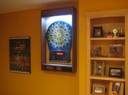 best dart board cabinet dart board laser line