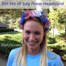 4th of july headbands diy 4th of july floral headbands