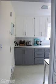 Resurfacing Kitchen Cabinets Turn Any Style Of Cabinets Into Shaker Style With This Thin Board