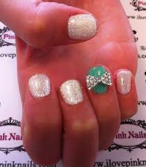 17 best bow nails images on pinterest make up pretty nails and