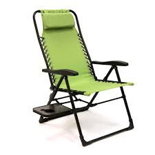 Gravity Table Companion Sunbrella Anti Gravity Chair With Side Table In Green
