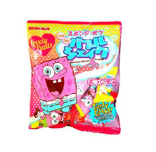 where to find japanese candy spongebob shake candy pack japan candy kawaii