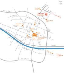 Santa Fe Map Fort Marcy Hotel Suites Downtown Santa Fe Vacation Rentals