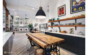 Home Loft Office A Cavernous Soho Loft With A Lived In Feel Seeks 2 7m Curbed Ny