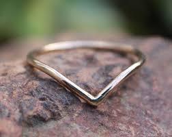 14k gold chevron rings sterling silver v shaped ring view 14k solid gold v shaped ring v ring thin gold ring