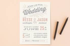 simple wedding invitation wording wedding invitation wording that won t make you barf offbeat