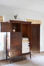 linen cabinet family room organization julie blanner