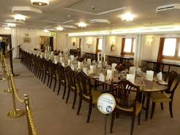Royal Dining Room by State Dining Room Picture Of Royal Yacht Britannia Edinburgh