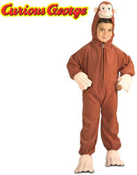 curious george toddler halloween costume walmart