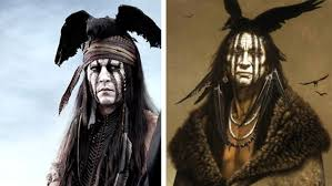 johnny depp u0027s tonto is based on a white man u0027s painting of an