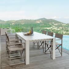 tavoli da design tavolo da pranzo da giardino di design bianco chic