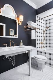 plaid pattern tile around tub and shower bathrooms pinterest