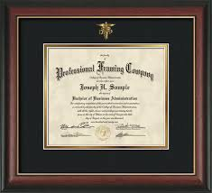 diploma framing dnp embossing on custom certificate and diploma frames official