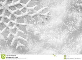 winter christmas background snowflake on snow stock image