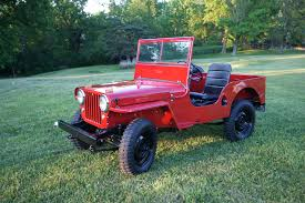 jeep about willys jeep cj 2a cj2a jeep specs and history