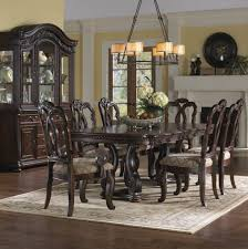 Dining Room Table And China Cabinet San Marino Extendable Dining Room Set From Samuel Lawrence