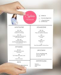 curriculum vitae layout 2013 calendar simple beautiful resume design with pink circle for every chic