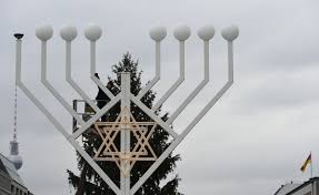 why and hanukkah land on same day in