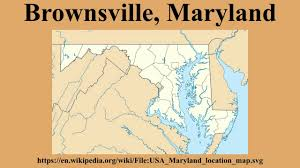 Maryland Usa Map by Brownsville Maryland Youtube