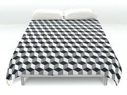 geometric pattern bedding black and white pattern bedding geometric duvet grey black bedding