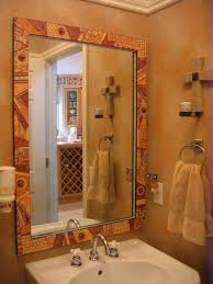 How To Put A Frame Around A Bathroom Mirror by Lorrie Grainger Abdo Paper Mosaic Mirror Frame Haworth Family