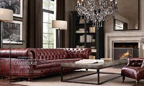 restoration hardware chesterfield sofa restoration hardware rooms cylindrical column lamp floor metal