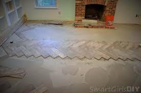 floor herringbone brick floor how to install herringbone tile