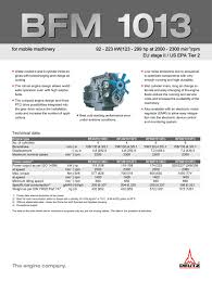 bfm 1013 deutz pdf catalogue technical documentation brochure