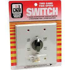 evaporative cooler 2 speed metal 2 gang wall switch az partsmaster