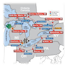 Map Of Findlay Ohio by The Great Race Great Race 2012 Event Page