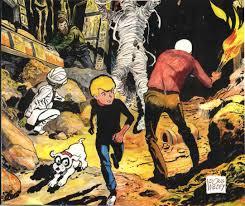 jonny quest art from the series