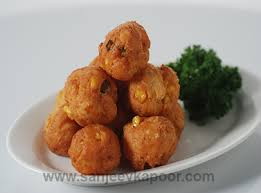 how to make cheese corn balls recipe by masterchef sanjeev kapoor