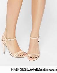 haphazard asos haphazard sandali con tacco albicocca uv93007419