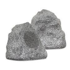 outdoor rock speakers ebay