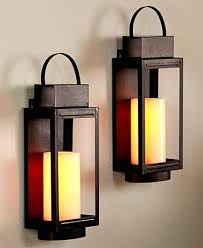 Led Wall Sconce Indoor Add The Realistic Look Of A Flickering Candle To Your Indoor Decor