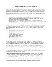 12 Vendor Agreement Template Rent 13 Best Images Of Sample Vendor Agreement Service Contract