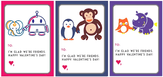 kids valentines day cards 30 cool printable s cards for the classroom
